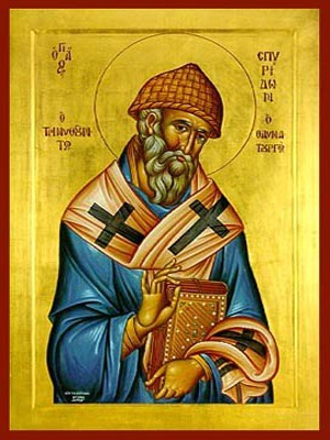 SAINT SPYRIDON, BISHOP OF TREMITHON, CYPRUS