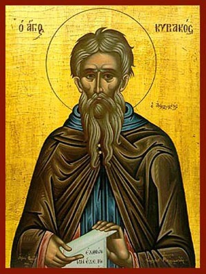 SAINT CYRIACUS, THE HERMIT OF PALESTINE