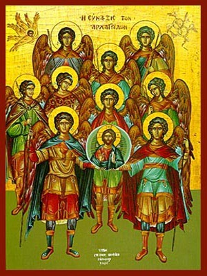 SYNAXIS OF THE HOLY ARCHANGELS, FULL BODY