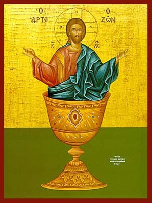 CHRIST BLESSING, THE LIVING BREAD