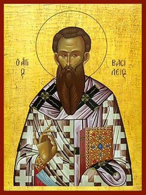SAINT BASIL THE GREAT, ARCHBISHOP OF CAESAREA, CAPPADOCEA