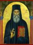 SAINT SABBAS, THE NEW, OF KALYMNOS, GREECE - Icon Print on Paper, 6×9cm / 2,4×3,6in