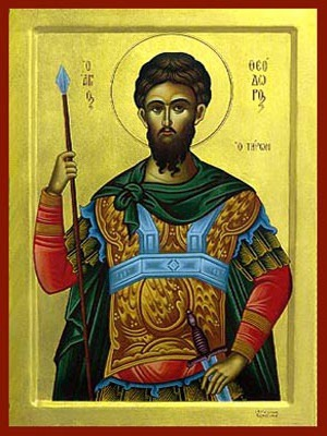 SAINT THEODORE THE GREAT MARTYR, TYRO