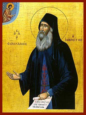 SAINT SILOUAN, ELDER OF MOUNT ATHOS, GREECE