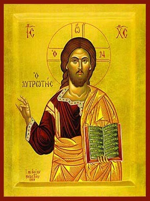 CHRIST BLESSING, THE REDEEMER