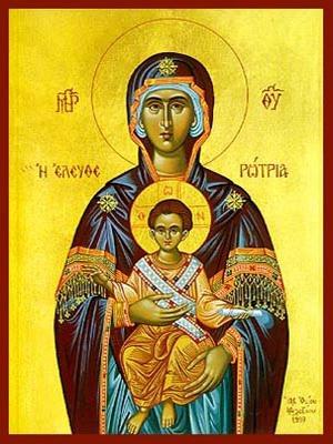 VIRGIN AND CHILD, ELEUTHEROTRIA