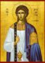 SAINT PROCHORUS THE ΑPOSTLE AND DEACON - Icon Print on Paper, 6×9cm / 2,4×3,6in