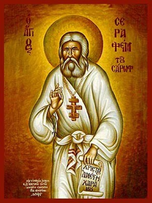 SAINT SERAPHIM, OF SAROV