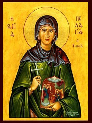 SAINT PELAGIA, OF TENOS, GREECE