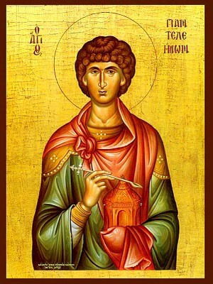 SAINT PANTELEIMON, THE GREAT MARTYR