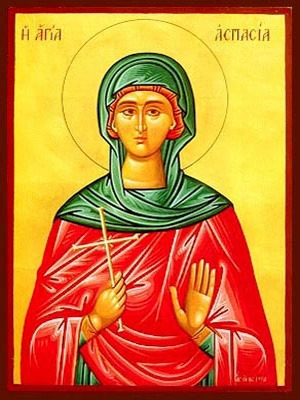 SAINT ASPASIA, VIRGIN-MARTYR