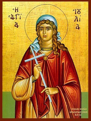 SAINT JULIA, VIRGIN-MARTYR