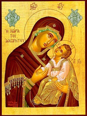 VIRGIN AND CHILD, SWEET KISSING, LAND OF NON LAND