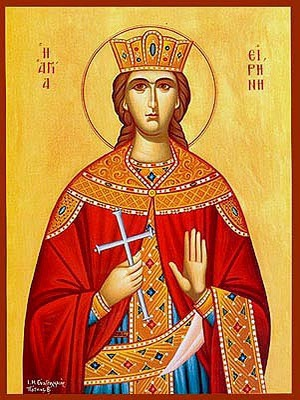 SAINT IRENE, THE GREAT MARTYR