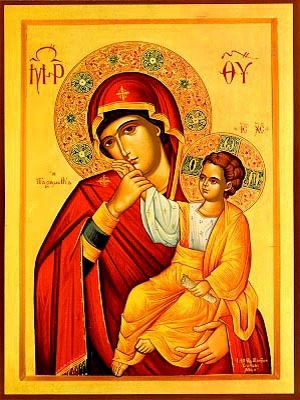 VIRGIN AND CHILD, PARAMYTHIA
