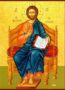 CHRIST BLESSING, SAVIOUR OF THE WORLD, ENTHRONED