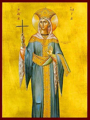 SAINT OLGA, PRINCESS OF RUSSIA