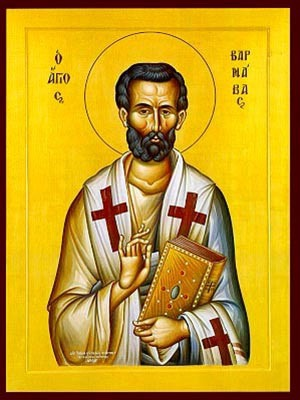 SAINT BARNABAS THE APOSTLE