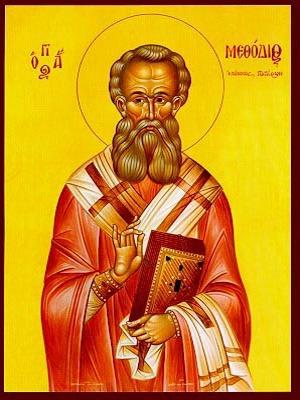SAINT METHODIUS, HIEROMARTYR, BISHOP OF PATARA