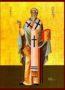 ΑΓΙΟΣ ΚΥΠΡΙΑΝΟΣ, ΙΕΡΟΜΑΡΤΥΣ, ΕΠΙΣΚΟΠΟΣ ΚΑΡΧΗΔΟΝΟΣ, ΟΛΟΣΩΜΟΣ - Εικόνα Χάρτινη, 14×20εκ / 5,6×8ίντσες