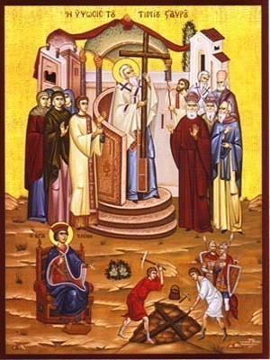 EXALTATION AND FINDING OF THE HOLY CROSS