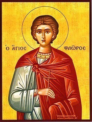 SAINT FLORUS OF ILLYRIA, MARTYR