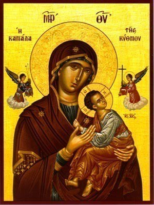 VIRGIN AND CHILD, KANALA OF KYTHNOS, GREECE