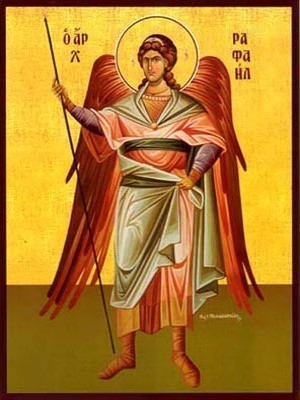 ARCHANGEL RAPHAEL, FULL BODY