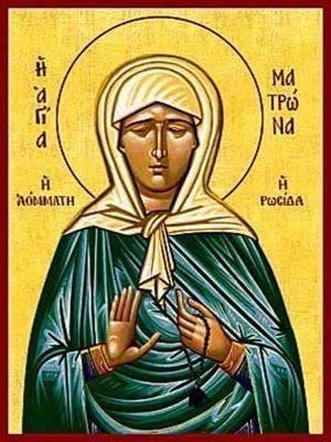 SAINT MATRONA OF MOSCOW, THE BLIND