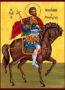 SAINT NICETAS THE GREAT MARTYR, ON HORSEBACK