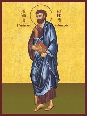 APOSTLE AND EVANGELIST SAINT MARK, FULL BODY