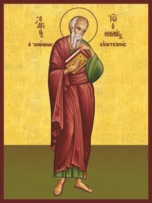 APOSTLE AND EVANGELIST SAINT JOHN THE THEOLOGIAN, FULL BODY