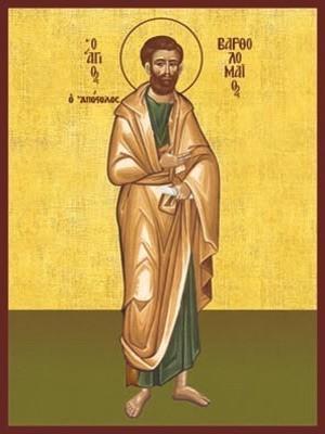 SAINT BARTHOLOMEW THE APOSTLE, FULL BODY