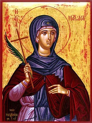 SAINT MATRONA, OF CHIOS, GREECE