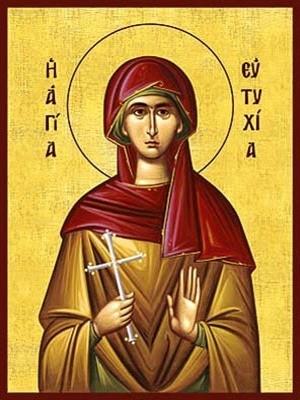 SAINT EUTYCHIA, THE CONFESSOR