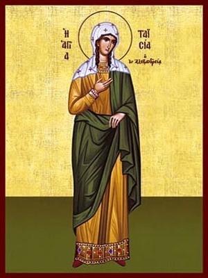 SAINT TAISIA OR THAIS, OF ALEXANDRIA, EGYPT, FULL BODY