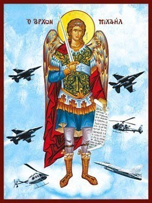 ARCHANGEL MICHAEL, FULL BODY, PROTECTOR OF AIR FORCE