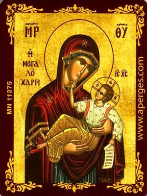 VIRGIN AND CHILD, GREAT GRACE