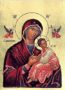 VIRGIN AND CHILD, IMMACULATE - Silkscreen on Cotton Canvas, 14×20cm / 5,6×8in