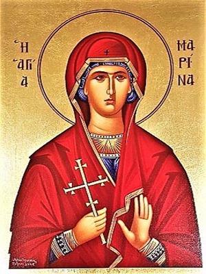 SAINT MARINA, THE GREAT MARTYR, OF ANTIOCH
