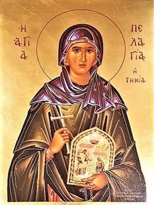 SAINT PELAGIA, OF TENOS, GREECE