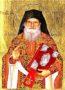 SAINT PORFYRIOS KAFSOKALYBITES - Silkscreen on Cotton Canvas, 20×26cm / 8×10,4in
