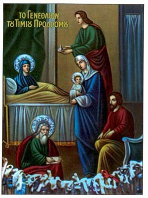 NATIVITY OF SAINT JOHN THE FORERUNNER