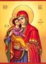 VIRGIN AND CHILD, SWEET KISSING, OF THE AKATHIST (LAUDATION OF THEOTOKOS)
