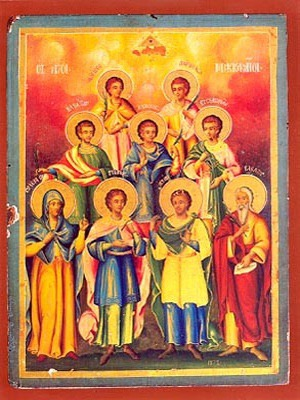 HOLY SEVEN MACCABEES MARTYRS