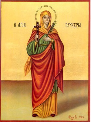 SAINT GLYCERIA, VIRGIN-MARTYR AT HERACLEA, FULL BODY