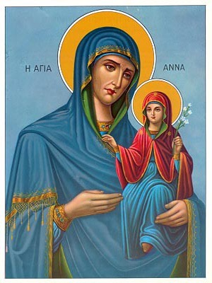 SAINT ANNE WITH VIRGIN