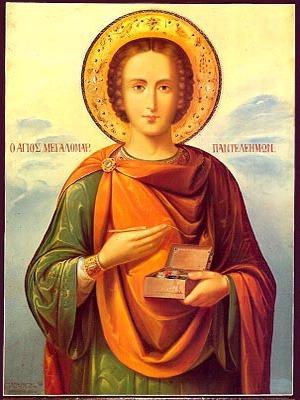 SAINT PANTELEIMON, THE GREAT MARTYR