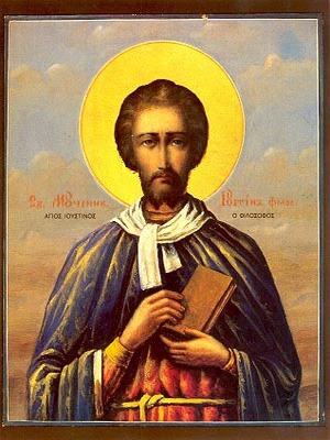 SAINT JUSTIN, MARTYR, THE PHILOSOPHER