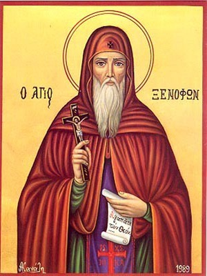 SAINT XENOPHON, OF CONSTANTINOPLE